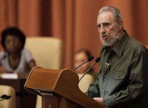 Fidel Castro en la Asamblea Nacional del Poder Popular. Foto: Reuters