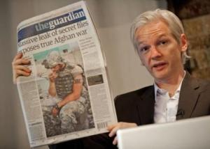 Julian Assange en Londres