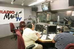 Estudio de Radio Martí
