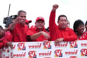 Foto de Chávez en Anzoátegui