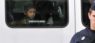 Niño gitano deportado