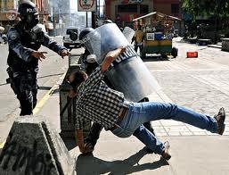 Represión en Honduras