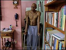Guillermo Fariñas, fotografiado por AP