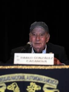 Pablo González Casanova en la UNAM Foto: Carlos Cisneros, La Jornada