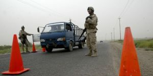 Punto de Control en Bagdad