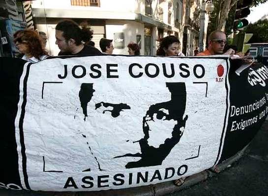 Manifestantes piden justicia en caso del camarógrafo José Couso