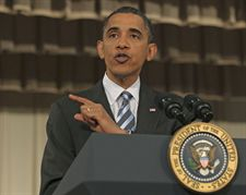 Obama habla en Yakarta