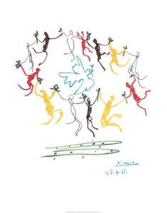 """""""El baile de la juventud"""" de Pablo Picasso"""