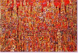 La Habana en rojo René Portocarrero