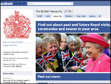 El perfil de la monarquía británica en la red social