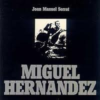 Portada del disco que Serrat dedicara a Miguel Hernández