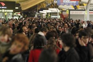 Caos en los aeropuertos españoles
