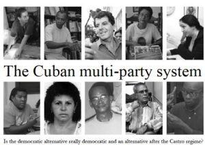 Oswaldo Payá; al centro, arriba; en la portada de Anna Ardin la principal acusadora de Julian Assange