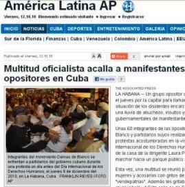 """Lo que publicó """"El Nuevo Herald"""""""