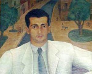 Lezama visto por el pintor cubano Jorge Arche