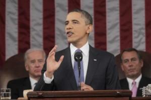 Obama en su intervención ante el Congreso. Foto: Reuters