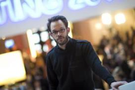 Daniel Domscheit-Berg, fundador de Openleaks en Davos.- AFP
