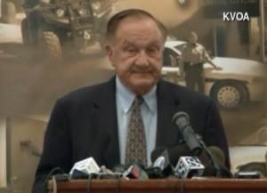 Sherif del condado de Pima, Arizona, primer oficial norteamericano en relacionar la hostilidad política con el atentado de este 8 de enero en Arizona