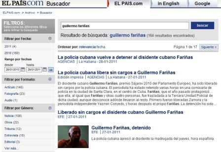 "La puntillosa cobertura de ""El País"" sobre Fariiñas."