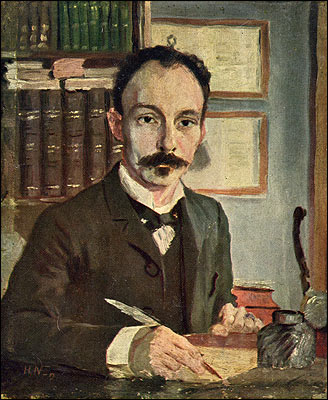 José Martí, retratado por Herman Norrman