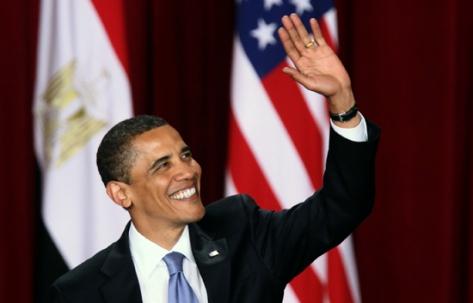 Obama en Egipto, el 4 de junio de 2009