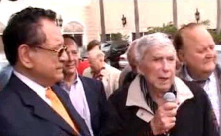 """Luis Posada Carriles """"habla"""" en Miami el 6 de enero de 2010"""