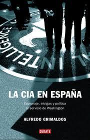 """Portada del libro """"LA CIA en España"""""""