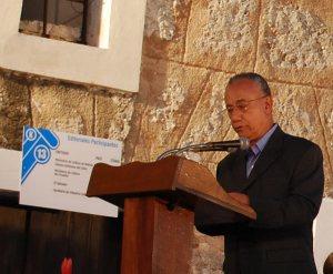 Fernando Martínez Heredia en la inauguración de la Feria Internacional del Libro Cuba 2011