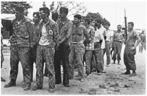 Mercenarios hechos prisioneros en Playa Girón que fueran luego canjeados por compotas