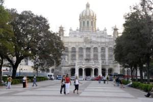 Espacio frente  al museo de la Revolución este 21 de febrero a las 5:00  pm Foto: Roberto Suárez/Cubadebate