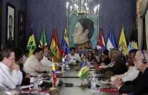 Cancilleres del ALBA en Caracas