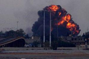 Bombradeo de la OTAN en Libia