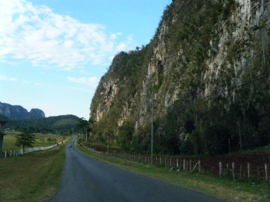 Carretera a Viñales en Pinar del Río, Cuba