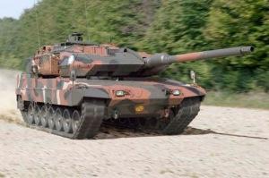 Tanque Leopard. España venderá 250 tanques como este.