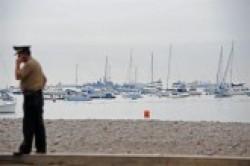Vigilancia ayer en costa del Perú