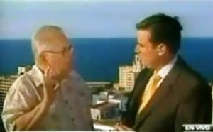 Elizardo Sánchez entrevistado por CNN