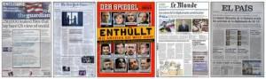 The New York Times, Der Siegel, The Guardian, Le Monde y El País, los cinco grande medios que comenzaron las filtraciones de Wikileaks