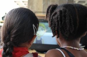 Tecnología para los niños en el pabellón Cuba
