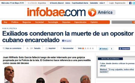 Lo que publicó Infobae