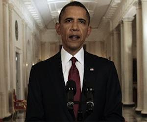 Obama anuncia la muerte de Bin Laden.