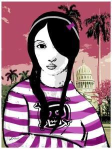 La Emo tropical (2011)  de Williams Cruz Perdomo (Premio UNEAC-XVII Bienal Internacional del Humor, Cuba 2011 )
