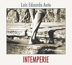 "Portada del nuevo disco de Luis Eduardo Aute: ""Intemperie"""