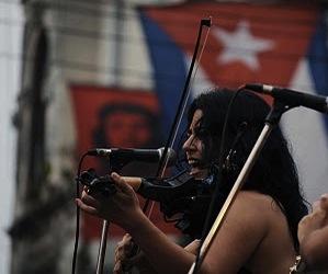Tammy López Moreno  Foto: Silvio Rodríguez que pintara luego Antonio Guerrero