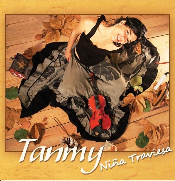 """Cubierta del disco """"Tanmy, niña traviesa"""""""
