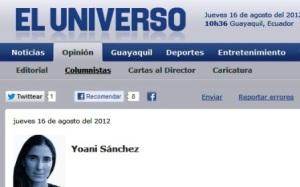 Las paradojas de EFE y Yoani Sánchez en el caso Assange (+¿Quién es Yoani Sánchez?)