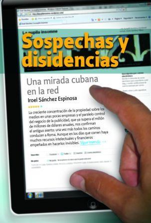 """Cubierta del libro """"Sospechas y disidencias"""""""