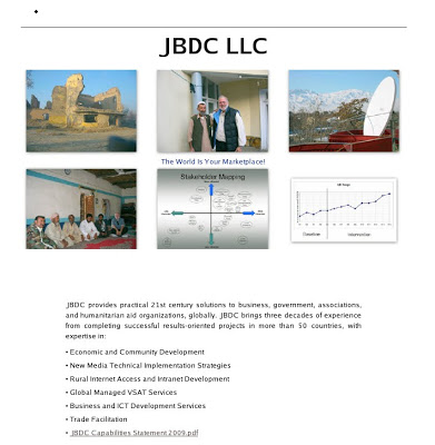 Captura de pantalla de la página web de la ahora extinta JBDC