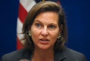 Victoria Nuland, portavoz del Departamento de Estado.