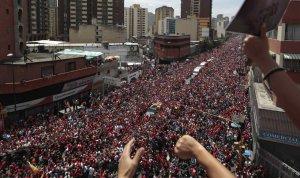 Homenaje a Chávez