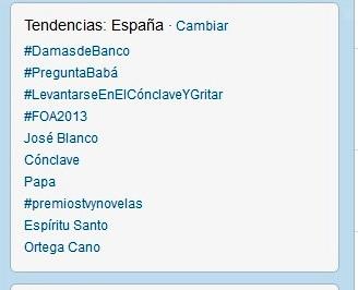 #DamasdeBanco fue Trending Topic absoluto en España para ser censurado poco después